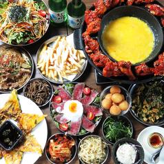 韓国バル HARERUYA ハレルヤのコース写真