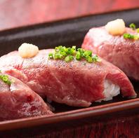 石垣牛の炙りにぎりなど地元沖縄料理も充実!