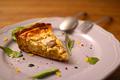 料理メニュー写真本日のトローリキッシュ 季節の野菜を使って