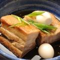 料理メニュー写真豚角煮