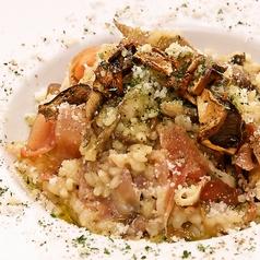 西洋松茸ともいわれるイタリアの高級食材!ポルチーニ茸の風味香るクリームリゾット