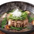料理メニュー写真国産牛のこだわり肉豆腐