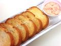料理メニュー写真ディップ&トースト