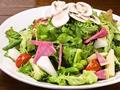 料理メニュー写真盛り盛りグリーンサラダ