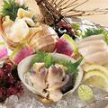 料理メニュー写真北海道産 貝三点盛り合わせ