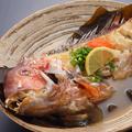 料理メニュー写真甘鯛の骨蒸し 若狭仕立て