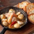 料理メニュー写真海老とエリンギのアヒージョ