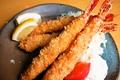 料理メニュー写真海老フライ定食【※出前注文可能】