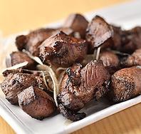 黒焼き製法で食べる仙台名物極厚牛タン!