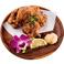 燻製鶏のから揚げ~燻製マヨ添え~