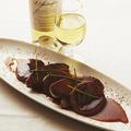 料理メニュー写真★鴨のフォアグラと大根のポワレ ハチミツとスパイスのオレンジソース