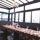 8~15名収容可能な解放感のある貸切のテラス個室です。オープンエアにしてプライベートビアガーデンもOKです。PM12時からの昼宴会もお受けいたします。