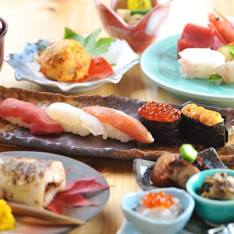 大人たちを唸らせる北の食材をカジュアルに食す。お寿司と日本酒を楽しめる鮨家、浜善