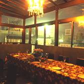 8~15名収容可能な解放感のあるテラス個室です。オープンエアにしてプライベートビアガーデンもOKです。PM12時からの昼宴会もお受けいたします。テラス個室は夜になるとこんな感じです。