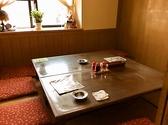 半個室のお席もございます♪8名様でご着席でき、半個室なので周りを気にせずお食事もおしゃべりも楽しめます!