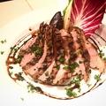 料理メニュー写真豚肩ロースのグリル~バルサミコソース~