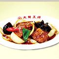 料理メニュー写真野菜たっぷり酢豚