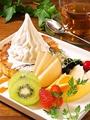 """料理メニュー写真『各種メディアで話題★』 """"クレミア""""を使用した特製デザート"""