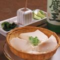 料理メニュー写真ざる豆腐