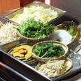お野菜とり放題♪自由にとれる野菜バーがあります。お肉だけでなく、野菜もたくさん食べられます。