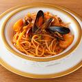 料理メニュー写真魚介のナポリタン
