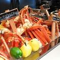 店内にはその日のおすすめ海鮮がずらり★目で見てお好きなものをお選びください!