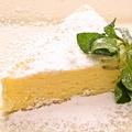 料理メニュー写真クリームチーズケーキ