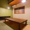 掘りごたつ式のお座敷個室(8~12名様)