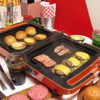 当店名物!!!Live Burger Plan♪1490円~