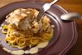 料理メニュー写真天使のカルボナーラ