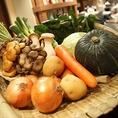 野菜は全部国産なんです♪旨みと甘みが違う!