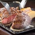 料理メニュー写真牛ロースステーキ