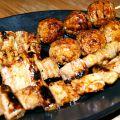 料理メニュー写真シロ/鶏ねぎま/鶏もも/鶏皮/つくね/せせり/ボンジリ/豚ねぎま/豚バラ