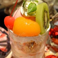 料理メニュー写真★腹八フルーツパフェ