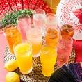 人気の単品飲み放題もご用意☆当日OKなので、会社帰りの飲み会や、ご友人同士のサク飲みにも是非!飲み放題は130種以上から選べます!
