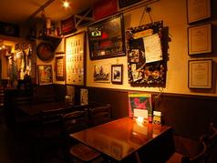 壁にはビールの美味しい飲み方や情報がいっぱい!