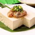 料理メニュー写真珍味3種の島豆冨のせ