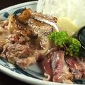 料理メニュー写真薩摩地鶏のたたき