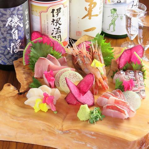 日本酒と旬彩 殿と美
