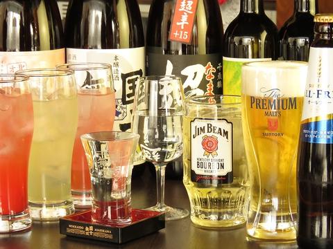 【3時間でゆっくり飲める!】料理8品+3H飲み放題 スパークリング・プレモル込 4000円