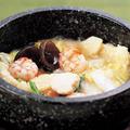 料理メニュー写真石焼海鮮おこげ