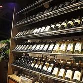 ワインセラーも完備し、お料理に合ったお酒もお楽しみ頂けます。