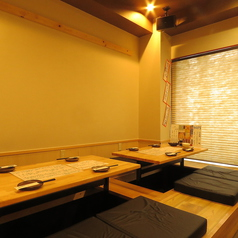 個室席が新登場!落ち着いた雰囲気で楽しめます!