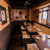 【個室30名様までご利用可能】大人数での会社宴会・飲み会に最適なお席となっております。宴会にお得な飲み放題付コースも多数ご用意ございます!個室だからプライベートな宴会でも安心。美味しい鶏料理をゆったりとした空間でご堪能ください。