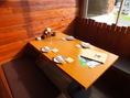 カウンター・テーブル・お座敷、席タイプ豊富です!
