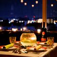 記念日を盛り上げる雰囲気作りは自慢の夜景席♪立川 イタリアン ワインバル 合コン 女子会 夜景 貸し切り