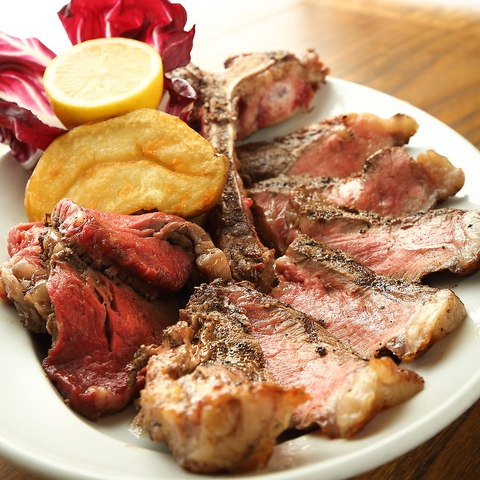 炭火焼き!豪快肉料理と旬鮮料理◆四季折々の食材とイタリアワインを味わう大人のバル