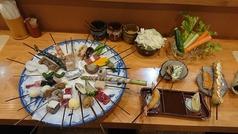 四季の串揚げ料理 我楽路の写真