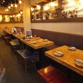4~6名様にぴったりのテーブル席◎人数に合わせてお席までご案内いたします♪