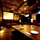 宴会や飲み会に最適な空間◎キッズスペースやカラオケの付いた完全個室もご用意☆ テーブル席/掘りごたつ席、シーンにあわせて最適なお席にご案内します♪